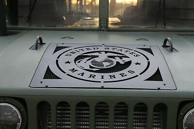 $189 • Buy US Marines Hood Vent Grill For HUMVEE M998 M1045 M1123 M1097 Hummer H1