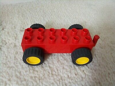 £8.99 • Buy Duplo  2318 Pullback Motor Friction Chassis, Rare Vintage Complete Circa  1991