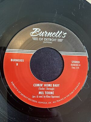 £7.99 • Buy Double Sider Mel Torme - Comin Home Baby/Solomon Burke - Cry To Me - Burnetts Re