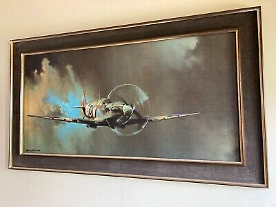 £3500 • Buy Spitfire Oil Painting By Barrie A,F. Clark