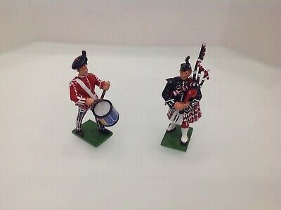£14.50 • Buy Britains Toy Soldiers Set00129 Pipes&drums Of KOSB Mint & Boxed