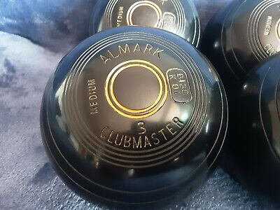 £10 • Buy Set Of 4 Almark Clubmaster Bowls, Size 3M