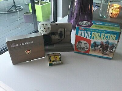 $ CDN43.09 • Buy Vintage  8 Mm Movie Projector Childs Toy In Original Box Made In Hong Kong