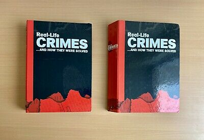 £48.99 • Buy Real-Life Crimes Magazine: Issues 1-30 In Original Binders - Excellent Condition