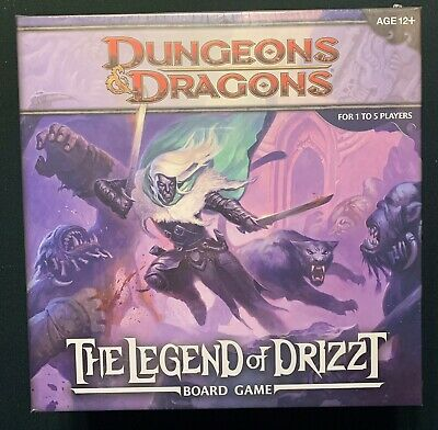 AU33.41 • Buy Dungeons & Dragons: The Legend Of Drizzt Board Game — New, Sealed NISB