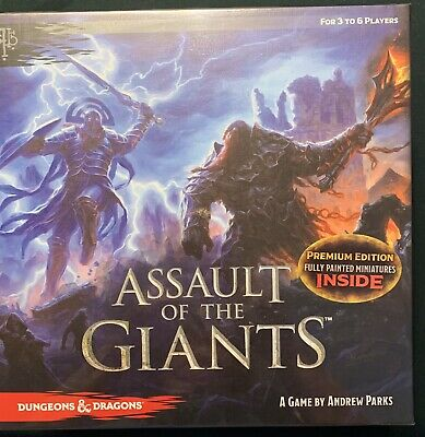 AU46.77 • Buy Dungeons & Dragons: Assault Of The Giants Board Game Premium Edition — New NISB