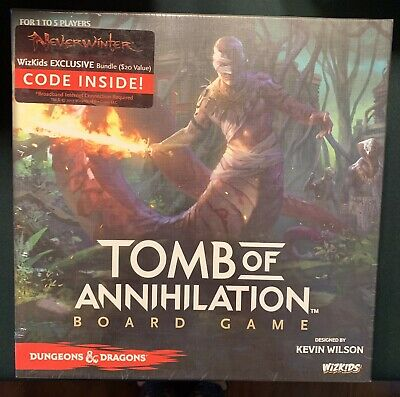 AU33.41 • Buy Dungeons & Dragons: Tomb Of Annihilation Board Game — New, Sealed NISB