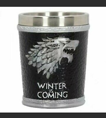 £9.99 • Buy Winter Is Coming Shot Glass Game Of Thrones (Nemesis Now)