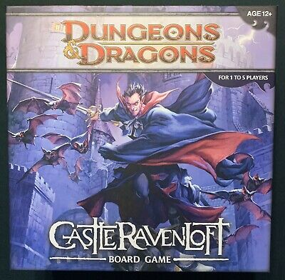 AU13.36 • Buy Dungeons & Dragons: Castle Ravenloft Board Games— Opened, Played Once