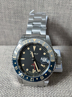 View Details Squale 30 ATMOS Tropic GMT Ceramica Automatic Watch • 699.99£