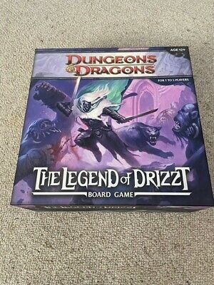 AU50 • Buy Dungeons & Dragons Legend Of Drizzt Board Game