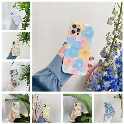 AU5.99 • Buy Cute Flower Pattern Silicone Case Cover For IPhone 12 Pro Max 11 XS XR 7 8 Plus