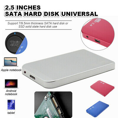 £25.99 • Buy External USB 3.0 SSD Solid State Drives 2TB 1.8  Portable Mobile Hard Drive US