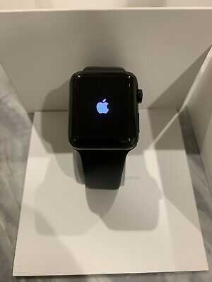 AU125 • Buy Apple Watch Series 2 | 42mm Space Black Stainless Steel Case | Black Sports Band