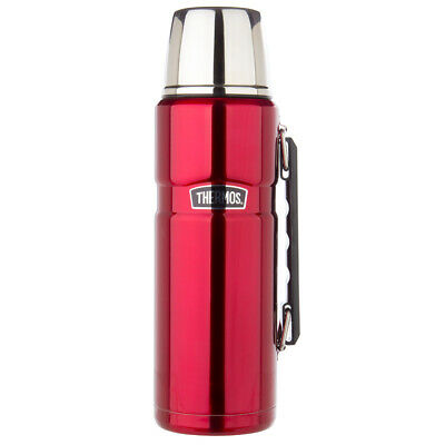 AU37 • Buy NEW Thermos Stainless Steel Vacuum Insulated Flask Red 1.2L