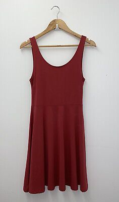 £10 • Buy Topshop Pink Fit&Flare Dress Size 10 Ladies