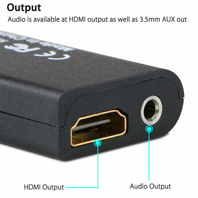 £4.99 • Buy For Sony Playstation 2 PS2 To HDMI Converter Adaptor Cable HD USB For PSX PS4