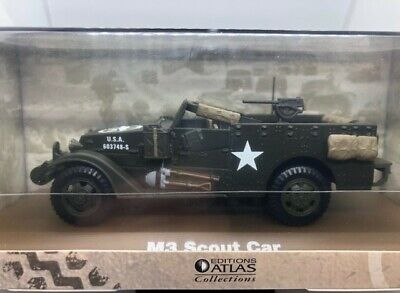 $4.14 • Buy Atlas Collections - M3 Scout Car, WII, American