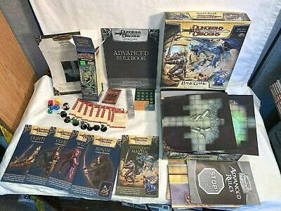 AU80.16 • Buy 2006 Lot DUNGEONS & DRAGONS Miniatures BASIC GAME + Figures Maps Books DICE Box