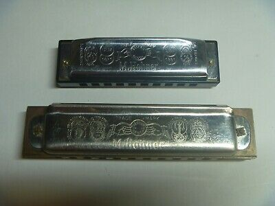 $29.95 • Buy Lot Of 2 M. Hohner Marine Band And Special 20 Harmonicas Made In Germany