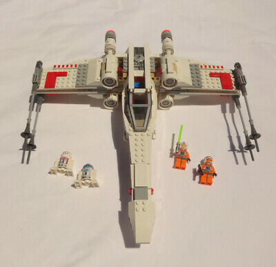 £25.34 • Buy LEGO Star Wars X-Wing Starfighter (9493) Complete Set With Figures