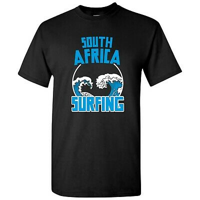 £11.58 • Buy South Africa Surfing - National Pride Sports Competition T Shirt - Black