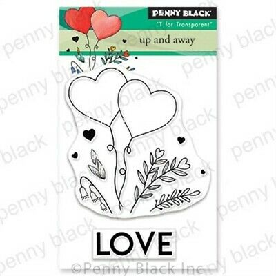 £7.14 • Buy Penny Black Clear Stamps-Up And Away 3 X4