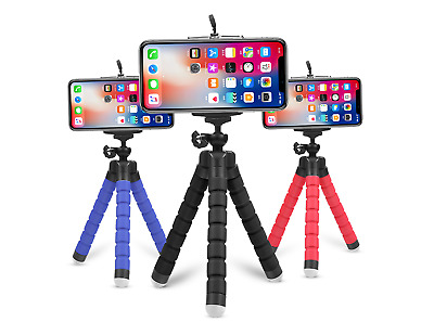 £4.99 • Buy Mobile Phone Universal Mini Holder Tripod Stand Grip For IPhone Samsung Camera
