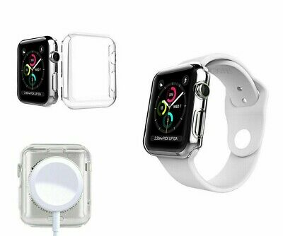 $ CDN4.31 • Buy IWatch Screen Protector Case Cover Apple Watch Series 1/2/3/4&5 Fits All Models