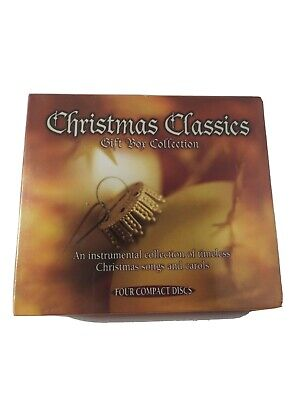 £3.72 • Buy Christmas Classics Gift Box Collection (4- CD Set)  BRAND NEW SEALED