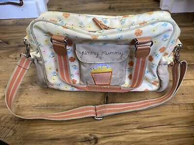 £10 • Buy Yummy Mummy Pink Lining Butterfly Cupcake Baby Bag