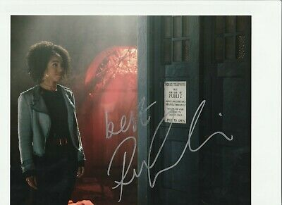 £11 • Buy Pearl Mackie HAND SIGNED 8x10 Photo, Autograph, Doctor Who