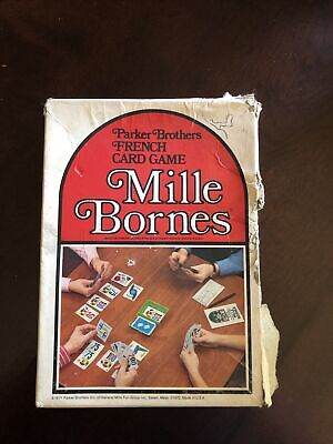 $4 • Buy 1964 Vintage Parker Brothers Mille Bornes French Auto Racing Card Game