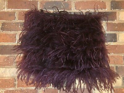 £20 • Buy Gorgeous Rare Topshop Ostrich Feather Mini Skirt Size 10 RRP £120