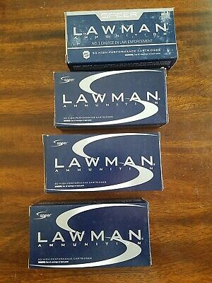 $ CDN30.90 • Buy (5) EMPTY Speer Lawman 9mm Ammunition Boxes With Plastic Inserts Reloading