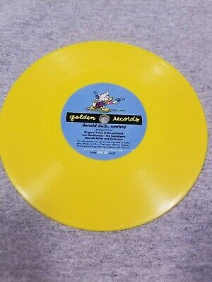£0.72 • Buy Vintage 1950's Donald Duck Cowboy On Golden Records- In Yellow