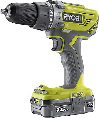 £69.99 • Buy Ryobi R18PD3-115GK ONE+ 18v Cordless Brushed Percussion Drill