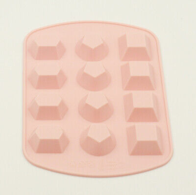 £3.40 • Buy Diamonds Crystals Gems Silicone Bakeware Mould Chocolate Wax Melts Candy Resin