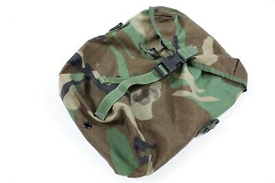 $ CDN12.37 • Buy US Military MOLLE II Rucksack Bag Sustainment MRE Pouch M81 Woodland Camo