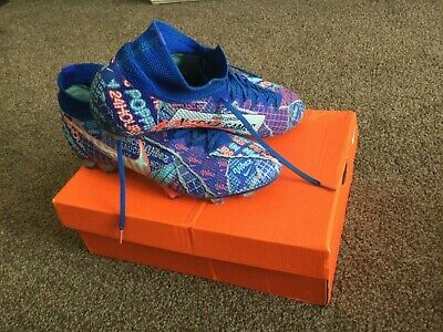 £66 • Buy Nike Mecurial Superfly7 Elite FG Sancho SE11 Blue Football Boots, Size UK 9