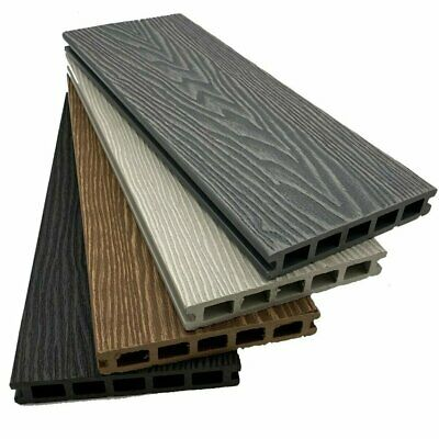 £12 • Buy Woodgrain Composite Decking 3.6m | Boards | Steps | Trims |Fixings| TOP QUALITY