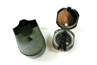$88.99 • Buy Brunton M2 Military Artillery Magnetic Unmounted Compass OD Green W/ Case