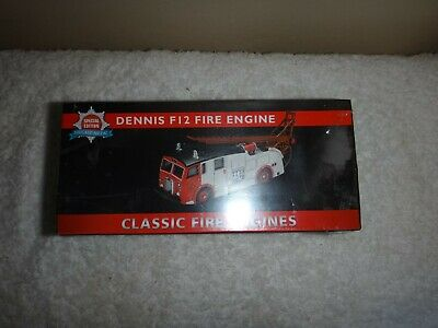 £19.99 • Buy DENNIS Special Edition Diecast Metal F12 Fire Engine Boxed Unopened