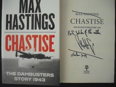 £9.99 • Buy Chastise - Dambusters Story 1943 Book  - Signed Max Hastings