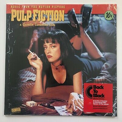 £5.71 • Buy Pulp Fiction - Music From The Motion Picture OST Soundtrack   LP 180g Vinyl Reco