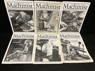 $24.99 • Buy The Home Shop Machinist Magazine, Lot Of 6, 1991-1992
