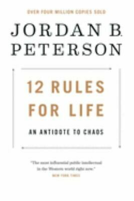 AU19.71 • Buy ⭐⭐12 Rules For LIfe: An Antidote To Chaos By Jordan Peterson  Hardcover⭐⭐