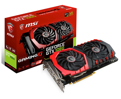 AU365 • Buy MSI GTX 1060 Gaming X 6GB Graphics Card **PERFECT WORKING CONDITION**