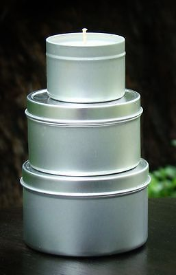 AU32.99 • Buy GIFT PACK Of 3 LARGE Candle Tins GREEN TEA & PEPPERMINT Eco Soy Wax For OUTDOORS