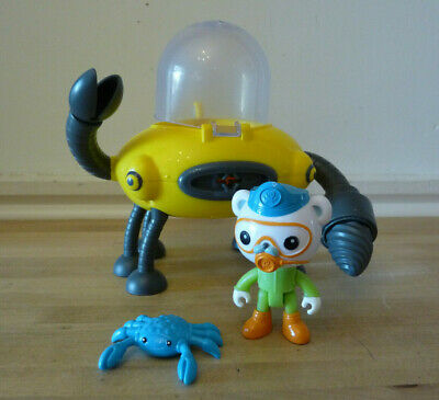 £18.99 • Buy Octonauts Gup D Crab Mode Claw & Drill Bath Toy With Crab, Captain Barnacles